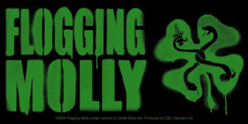 Licenses Products Flogging Molly Stencil Sticker