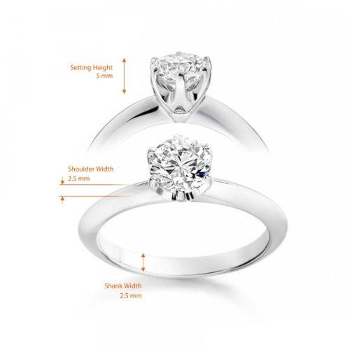 Bague avec un diamant