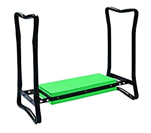 Folding garden kneeler seat kneeling pad gardening 199n for Gardening kneeling stool