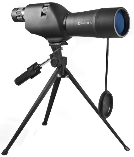 Best Review Of BARSKA CO11502 20-60x60 Waterproof Straight Spotting Scope with Tripod