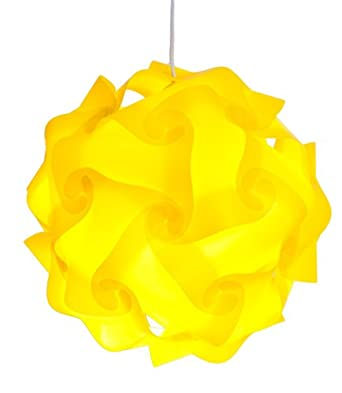 infinity lights puzzle lamp shade kit yellow small. Black Bedroom Furniture Sets. Home Design Ideas