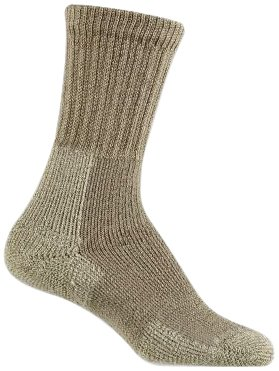 Thorlo Women's Thick Cushion Thorlon Hiking Sock,Khaki,Small
