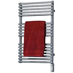 Runtal NTR-3320-9002 Neptune Hydronic Towel Radiator 33-in H x 20-in W Gray White