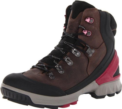 Ecco Womens Biom Hike Black/Coffee Caldera/Ant.Yak Boots Black Schwarz (BLACK/COFFEE) Size: 39