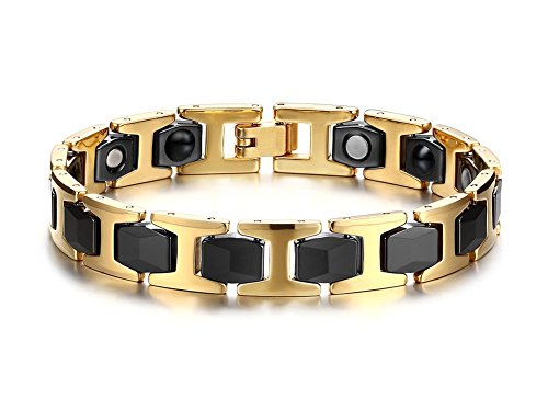 vnox-acier-inoxydable-ceramique-two-tone-hommes-biomagnetic-therapy-sain-bracelet-or-noir213cm