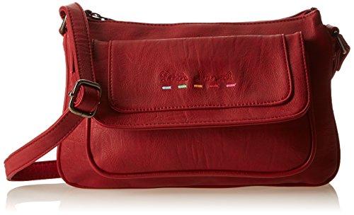 Little Marcel Ciriel, Borsa a tracolla donna , Rosso (Rosso (rosso)), Taille Unique