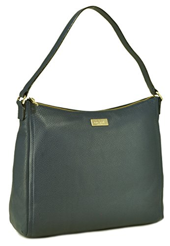 Kate Spade New York Highland Place Leather Bria Shoulder Bag French Navy Blue