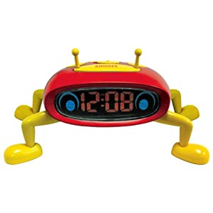 Advance 0.6-Inch LED Interactive Slumberbug Alarm Clock by Advance Time Technology