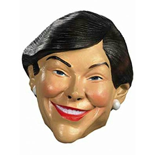 First Lady Laura Bush Politically Incorrect Adult Halloween Mask