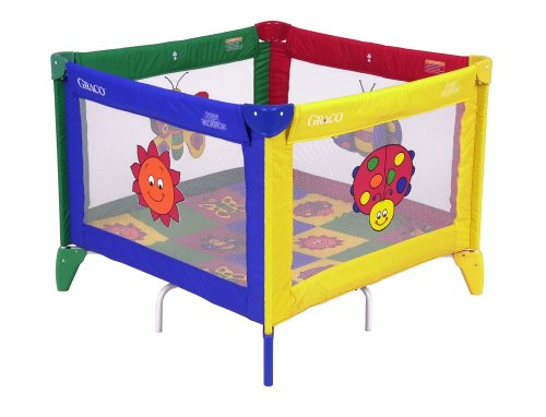 Buy Discount Graco TotBloc Pack 'N Play with Carry Bag, Bugs Quilt