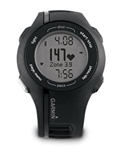 Garmin Forerunner 210 GPS Running Watch with Heart Rate Monitor - Black
