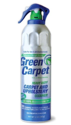 Nutek Green Carpet and Upholstery Cleaner 12oz  Aerosol - BET-0039