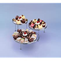 3-Tier Cakes and Cupcake Stand