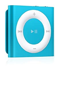 Apple iPod shuffle 2GB (4 gen. 2012) - Reproductor de MP3 (2 GB de capacidad) color azul [importado]