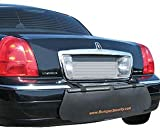 Bumper Security, Rear Bumper Scratch Protection Guard, BLACK
