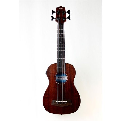 Kala Rumber U-Bass Acoustic Electric Short Scale Bass Ukulele