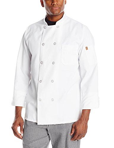Red Kap Chef DesignsTen Pearl Button Chef Coat, White, Large (Jacket Chef Men compare prices)