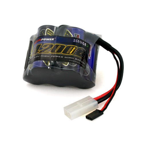 Venom Group International 1505 6V 4200mAh NiMH Rx Pack for HPI Baja