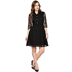 Shreeji Ethnic Women's Dress (R102053_Free Size_Black)