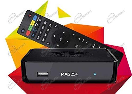 MAG 254 Wlan BOÎTE Lecteur IPTV Internet TV coffret HAUT Multimédia USB HDMI HDTV