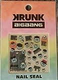 BIGBANG × KRUNK ネイルシール BEACH カフェ