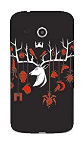 Upper case Fashion Mobile Skin Sticker for Samsung Galaxy core mini 4g