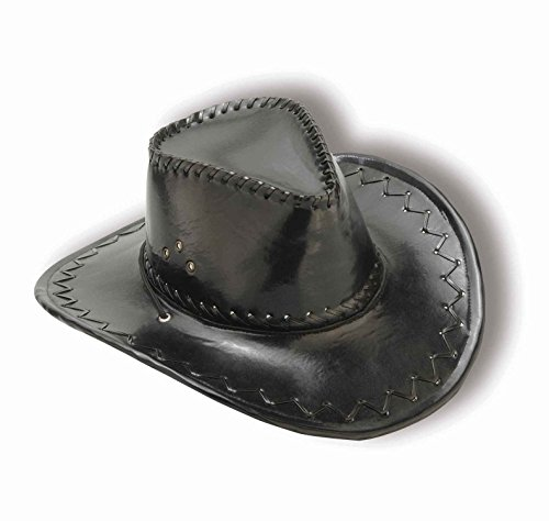 Black Distressed Cowboy Hat
