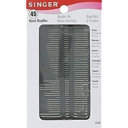 Singer Assorted Hand Needles , 45-Count