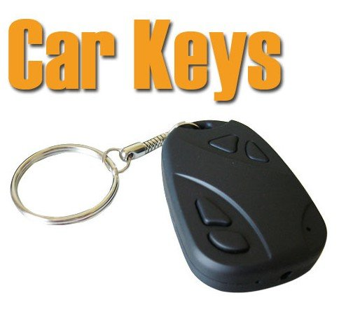 High Resolution USB Spy Camcorder Car Key Chain Cover Camera Audio / Video Recorder DV DVR 30fps