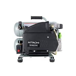 Hitachi EC99S Portable 4 Gallon Twin Stack Air Compressor (Certified Refurbished) (Color: Repeller v.80)