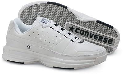 Men's Converse Concourt Low Oxfords White / Navy