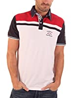 CLK Polo (Blanco / Rojo)