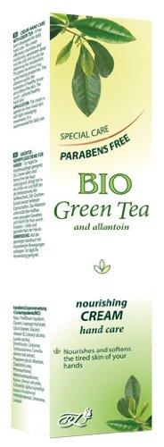 Crema nutritiva Mano e unghie con tè verde Bio Senza parabeni