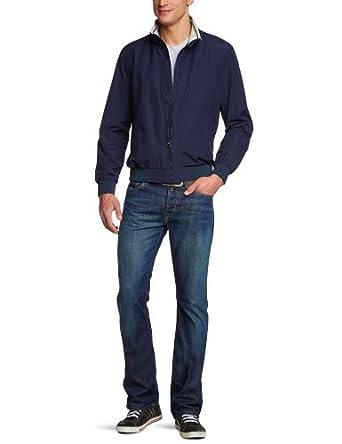 Geox - Blouson - Homme - Bleu (Bluef4100) - FR : 58 (Taille fabricant : 56)