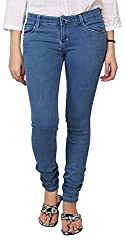Carrel Bring In Skinny Jeans Stretchable Denim Light Blue Colour For Womens