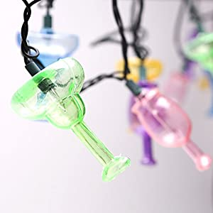 Cocktail Party String Lights - TROPICAL DRINKS - GREAT LUAU SUMMER PARTY LIGHTS!