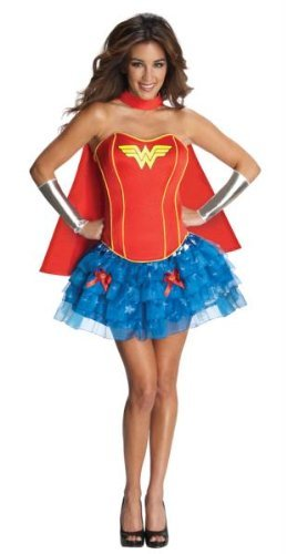 Wonder Woman Adult Flirty Lg