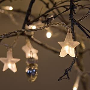 Indoor Star Fairy Lights with 30 LEDs by Lights4fun from Lights4fun