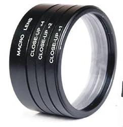 Numex 52mm close up lens filter kit +1 +2 +4 +10 macro 4 nikon D3000 D3200 18-55MM D40 D3300