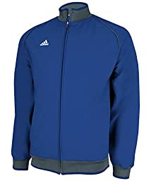adidas Men\'s Game Day 2.0 Jacket - Collegiate Royal/Lead - Large