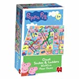 Active Jumbo Peppa Pig Giant Snakes and Ladders Game - Cleva Edition Travel'TT6 Bundle