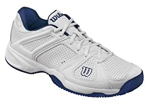 Wilson Stance CWRS316660E090, Herren Tennisschuhe, Weiß (white), EU 43 1/3 (UK 9) (US 9.5)