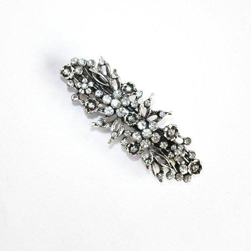 8 cm Vintage/ Antique Style Crystal/ Diamante