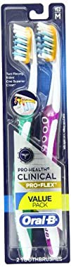 Oral-B Pro-Health Clinical Pro-Flex Medium Toothbrush 2 Count
