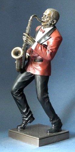 Jazz-Musik-Skulptur-Saxophon-Kollektion-Le-Monde-du-Jazz-aus-den-Parastone-Ateliers