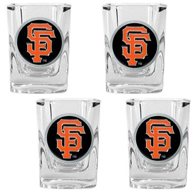 San Francisco Giants MLB Square Shot Glasses