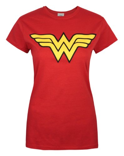 DC Comics Wonder Woman Junior's Red T-shirt