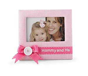Mud Pie Baby Little Princess Pink Gingham Photo Frame, Mommy and Me