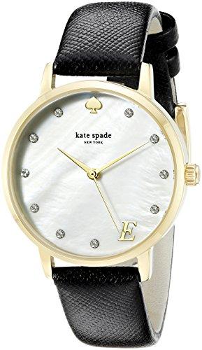 kate-spade-new-york-1yru092e-metro-monogram-da-donna-analogico-al-quarzo-con-display-colore-nero-sti