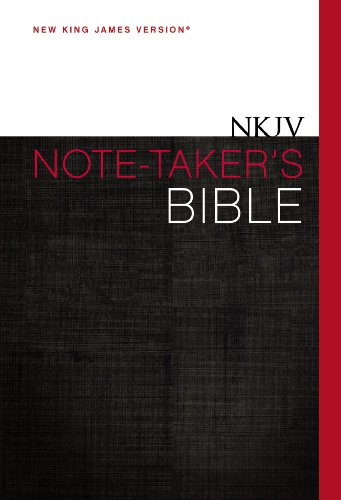 Note-Taker's Bible: New King James Version
